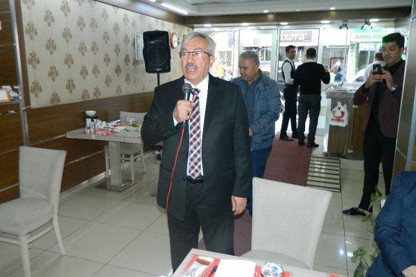 OSMAN YÜCE'DEN İSTİŞARE TOPLANTISI...