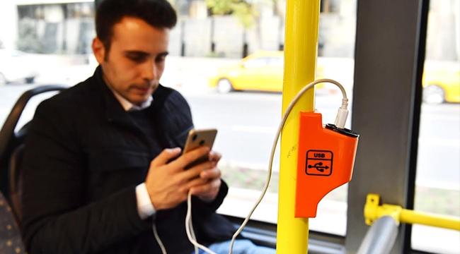 Ankara'da EGO Otobüslerinde Şarjı Dönemi...