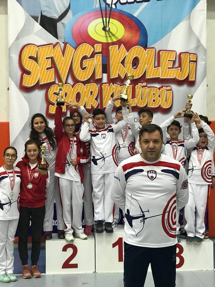 Çubuklu Okçular 15 Madalya Kazandı