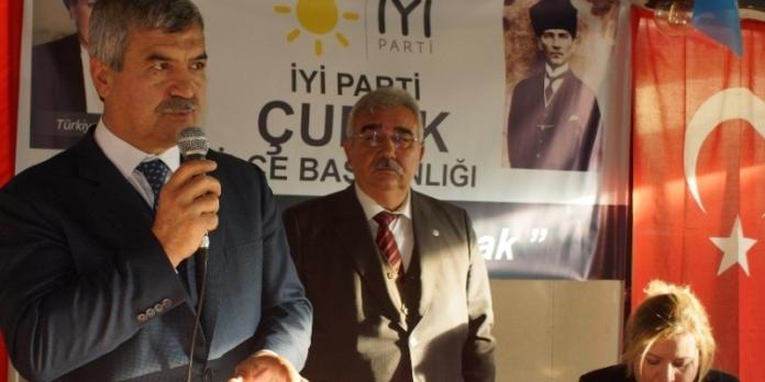 İYİ PARTİ'NİN ADAY'I MUSTAFA AYDOS OLDU