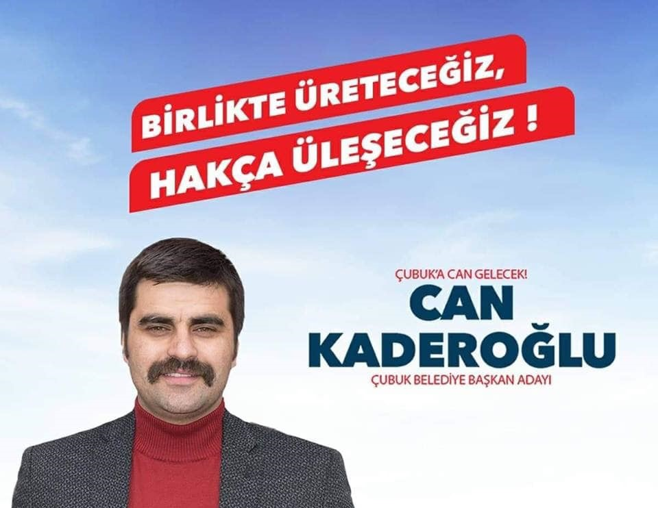 CHP'NİN ÇUBUK ADAY'I CAN KADEROĞLU OLDU