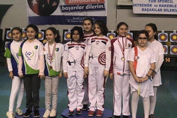 Çubuklu Okçular 5 Kupa, 9 Madalya Kazandı