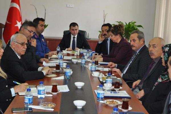 Seçim Güvenliği ve Koordinasyon Toplantısı Yapıldı