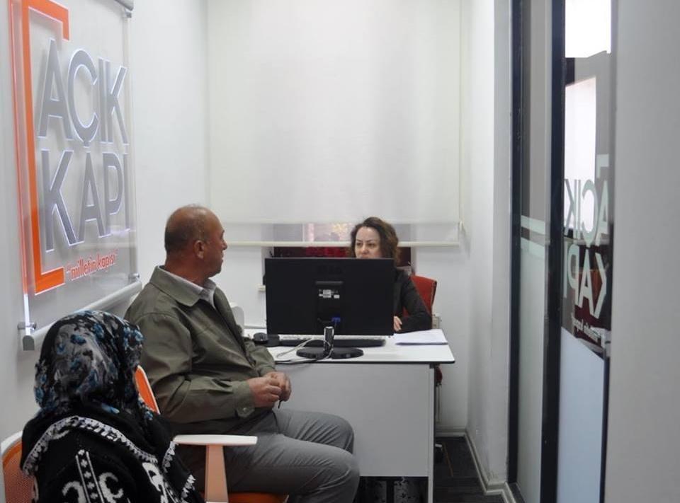 'Açık Kapı Milletin Kapısı' projesi Tekirdağ'da uygulanmaya başlandı