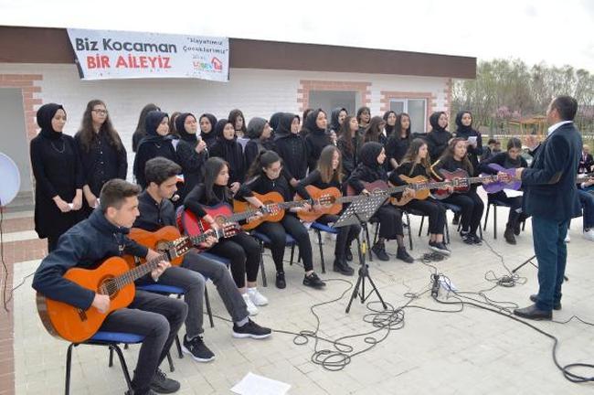 Çubuk'ta 'Kardeş Okul LÖSEV İncileri' projesi