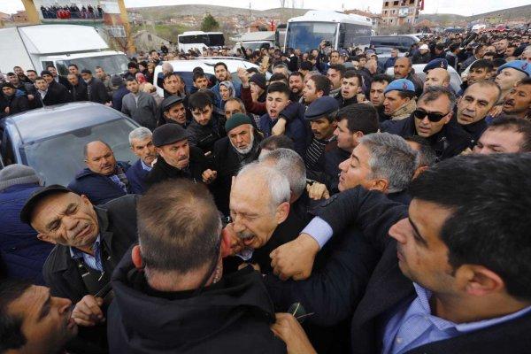 Kılıçdaroğlu'na saldıran Osman S. gözaltına alındı