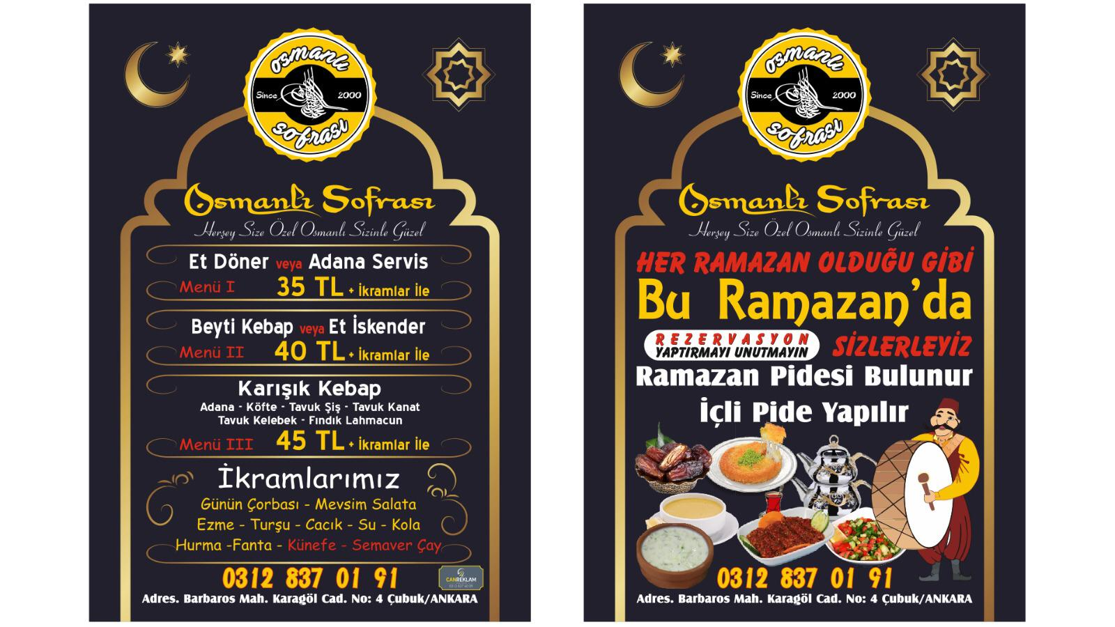 Sultanlara Layık İftar İçin Osmanlı Sofrası