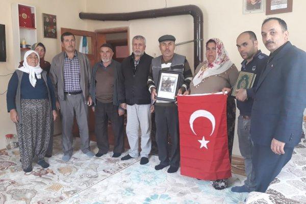 Terör Mağdurları Derneğinden Şehit Ailesine Ziyaret