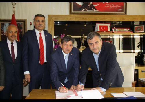 Çubuk Belediyesi ile Bem-Bir-Sen Arasında Sözleşme İmzalandı