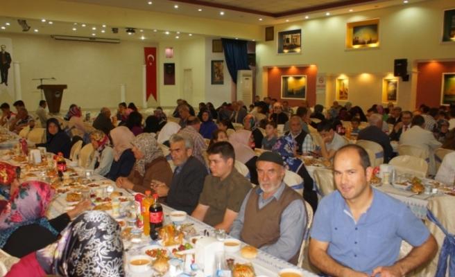 Çubuk'ta Şehit Aileleri Ve Gazilere İftar