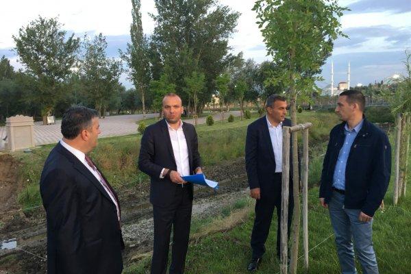 Belediye Başkanı Demirbaş, Köprü Çalışmalarını İnceledi