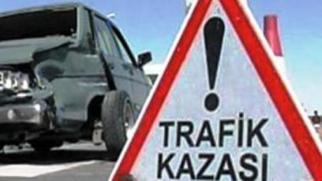 Trafik Kazası Açıklaması 1 Yaralı