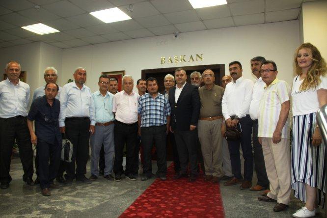 ÇUDEF'in yeni yönetiminden Başkan Demirbaş'a ziyaret