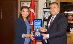 Satranç Federasyonu Başkanı Tulay, Başkan Demirbaş'ı Ziyaret Etti
