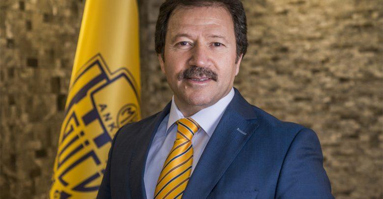 Ankaragücü'nde Mehmet Yiğiner yeniden başkan seçildi