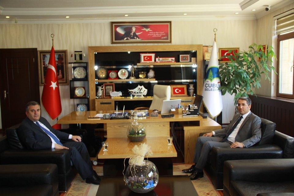 Çubuk Başsavcısı Demir'den Başkan Demirbaş'a ziyaret