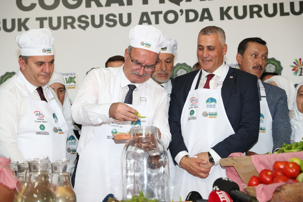 COĞRAFİ İŞARETLİ ÇUBUK TURŞUSU ATO'DA KURULDU