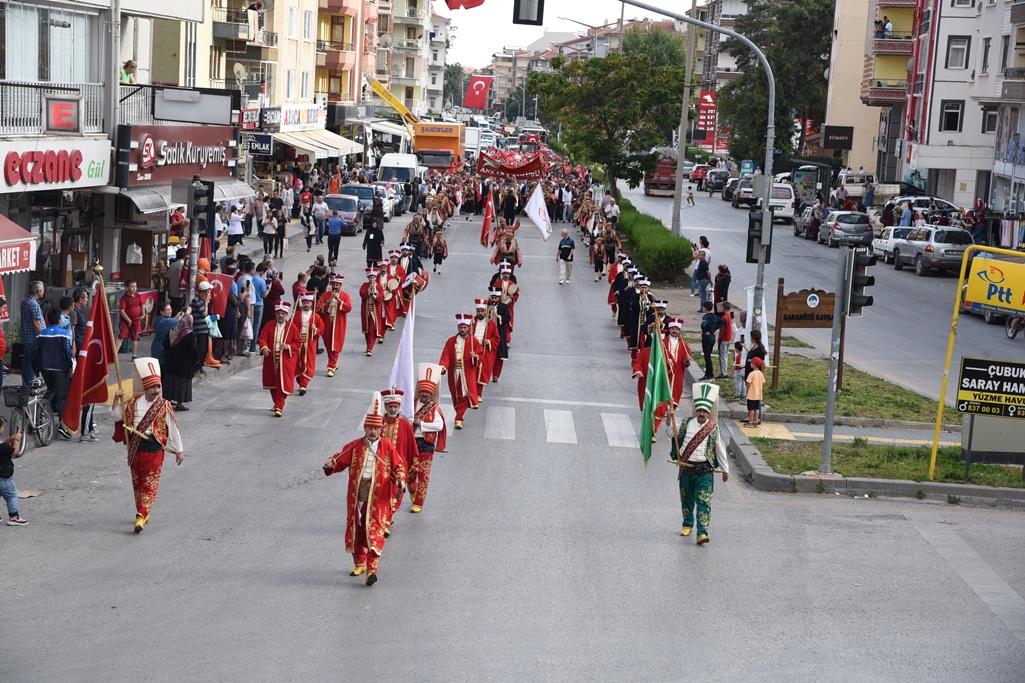 14. Uluslararası Çubuk Turşu ve Kültür Festivali Renkli Görüntülerle Başladı
