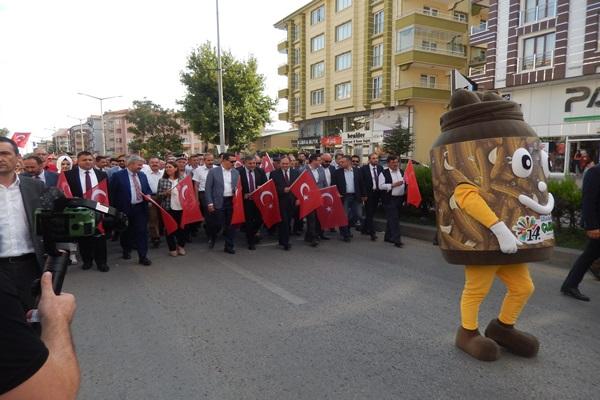 14. ÇUBUK TURŞU VE KÜLTÜR FESTİVALİ'NE START VERİLDİ...