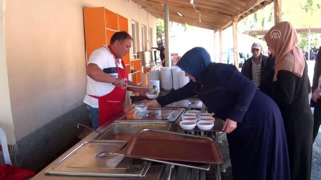 Mahalle sakinlerini taziye yemeği külfetinden kurtardılar