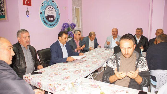 Çubuk Abad 1402 Dernekler Federasyonunda ilk toplantı