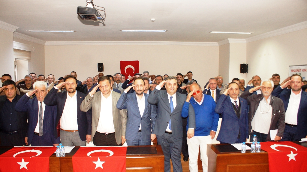 Çubuk Belediye Meclisinden Barış Pınarı Harekatı'na destek