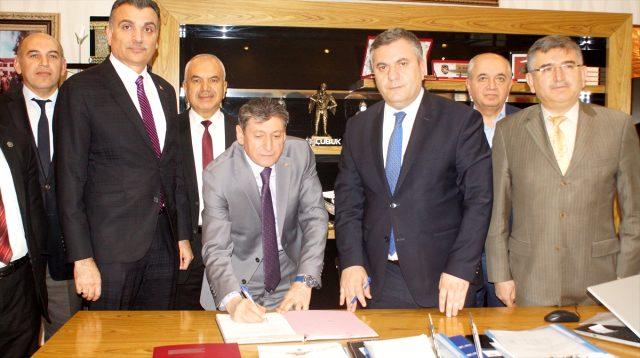 Çubuk Belediyesinde Sosyal Denge Sözleşmesi İmzalandı
