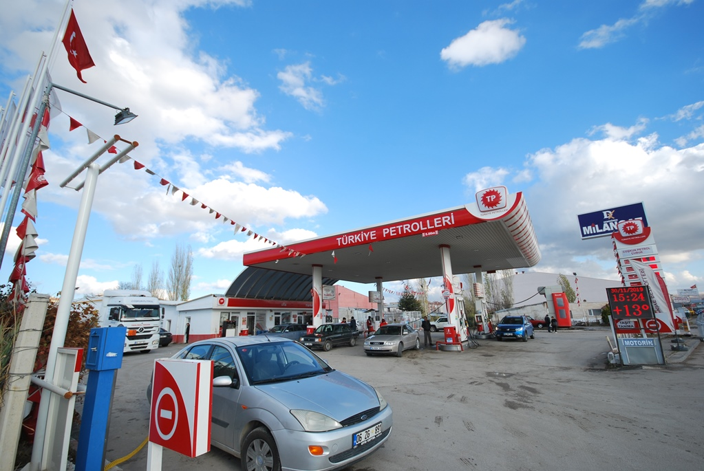 Çubuk'un Öz Petrolü Coşkun Petrol