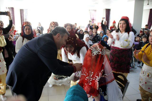 Çubuk'ta Engelli Genç Kızın Düğün Hayali Gerçek Oldu
