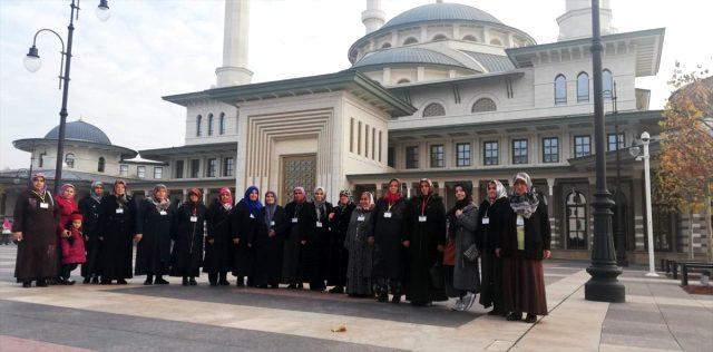 Yukarı Çavundurlu Kadınlar Ankara'yı Gezdi