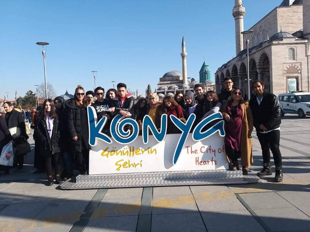 Özel Sebat Koleji Öğrencileri Konya'da