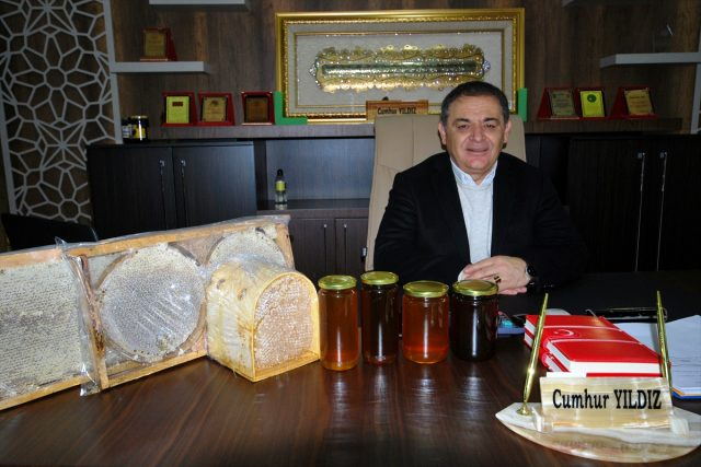 2019'da Türkiye'de 80 bin ton bal üretildi