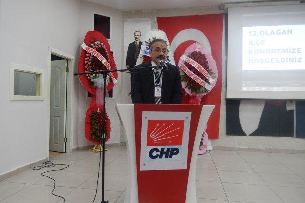 CHP ÇUBUK İLÇE TEŞKİLATI'NIN 12. OLAĞAN KONGRESİ YAPILDI...