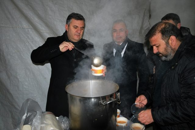 Çubuk'ta Pazarcı Esnafına Çorba İkramı