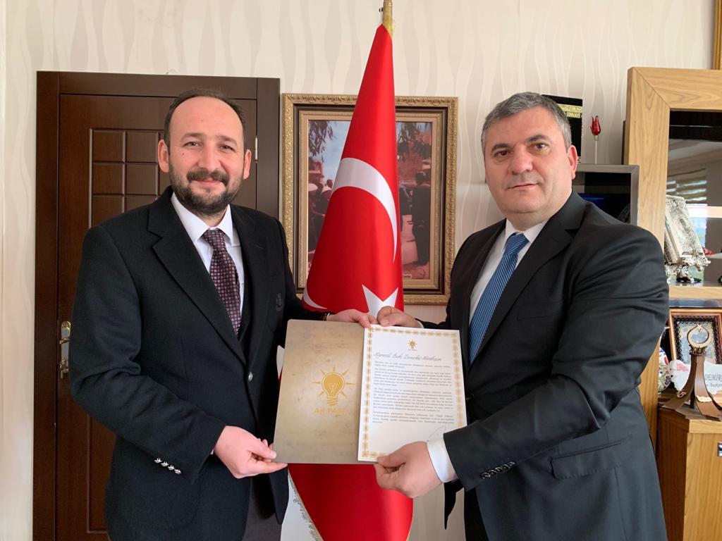 Cumhurbaşkanı Recep Tayyip Erdoğan'dan Başkan Baki Demirbaş'a Mektup