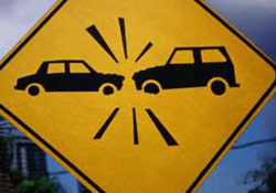 Esenboğa Yolunda Kaza 2 Yaralı