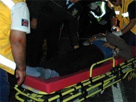 Esenboğa Yolunda Kaza 1Ölü 4 Yaralı