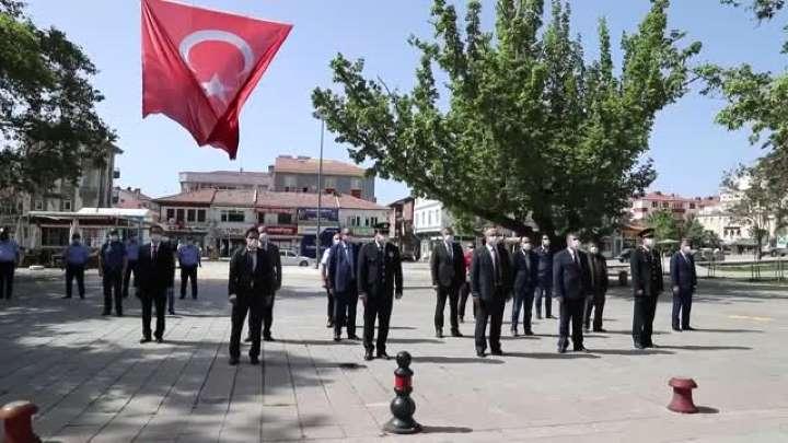 Çubuk'ta 19 Mayıs Atatürk'ü Anma, Gençlik ve Spor Bayramı kutlandı.