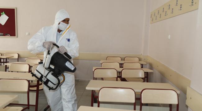 Çubuk'ta okullar sınav için hazırlanıyor