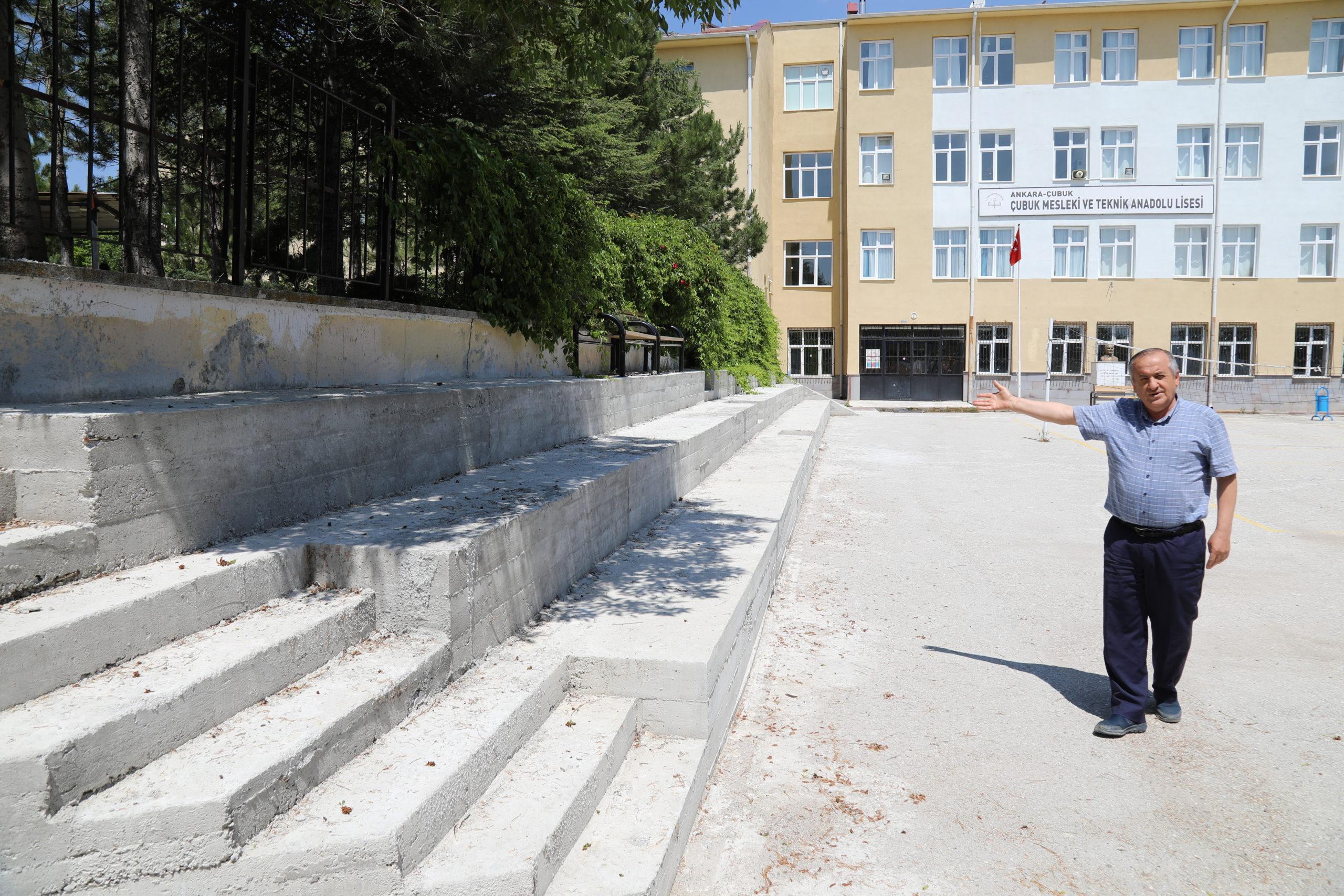 Çubuk Mesleki Ve Teknik Anadolu Lisesinde Tarım Bölümü Açıldı