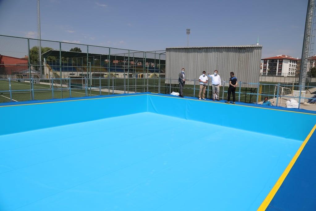 Çubuk Şehir Stad'ına Yüzme Havuzu