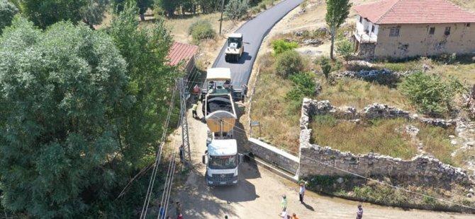 Çubuk'ta Yol Genişletme Ve Asfaltlama Çalışmalarına Başlandı
