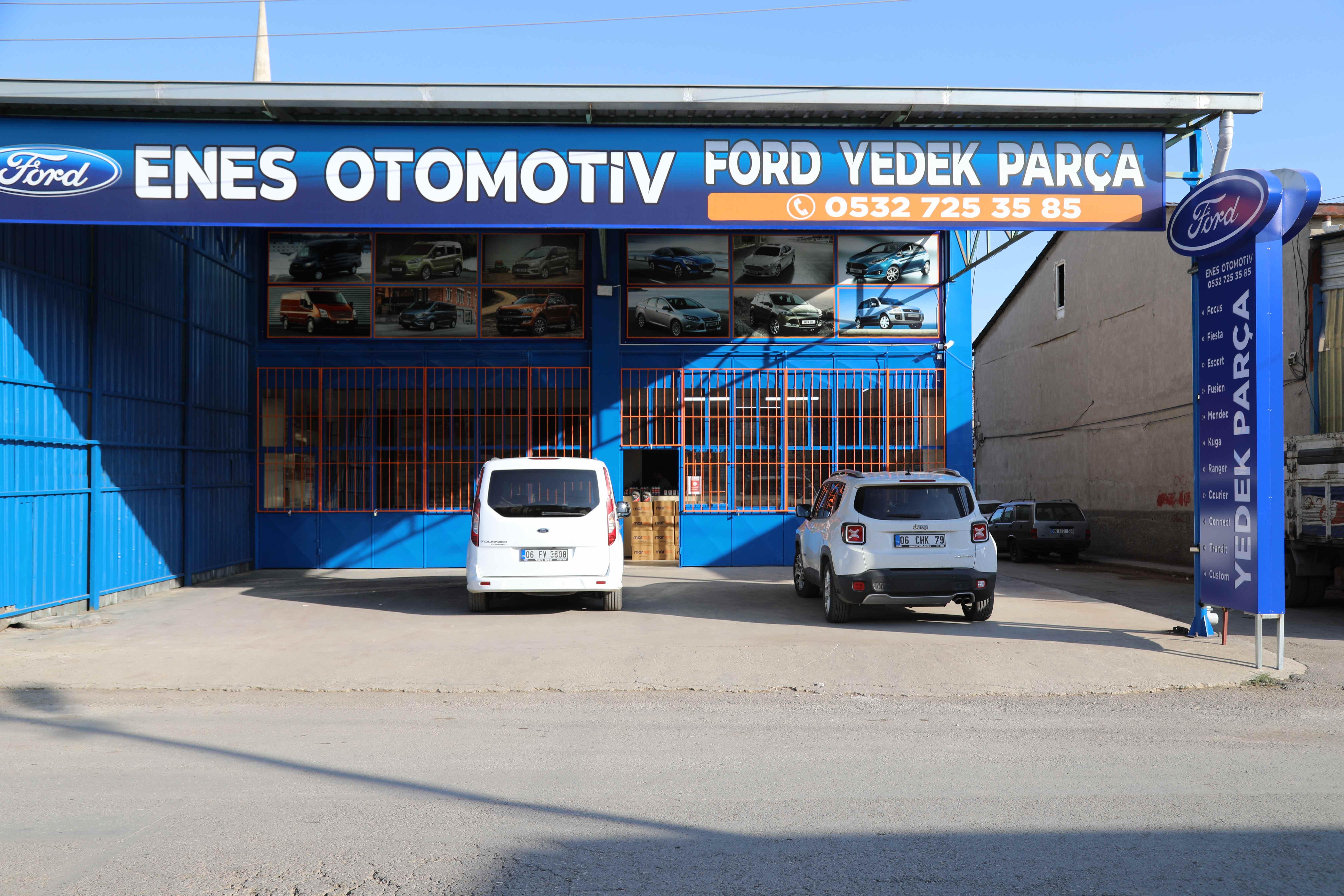 Ford Yedek - Parça Enes Otomotiv Açıldı