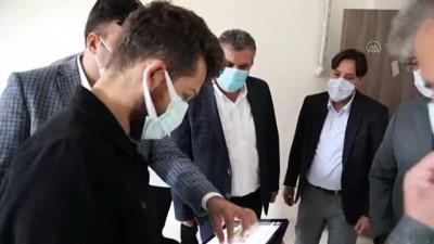 Ankara Gençlik Ve Spor Müdürü Çelik, Yapımı Süren Tesisi İnceledi
