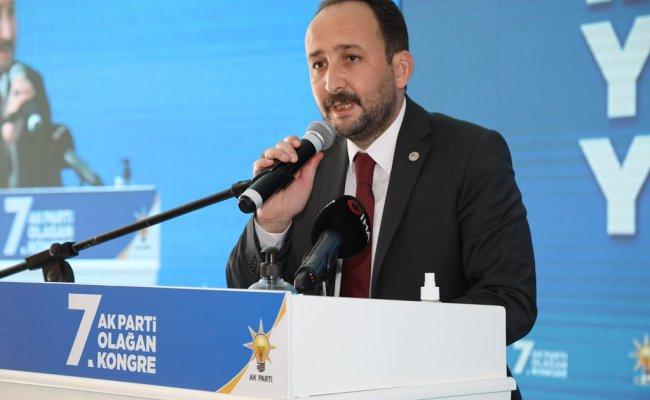 AK Parti Çubuk İlçe Kongresi yapıldı