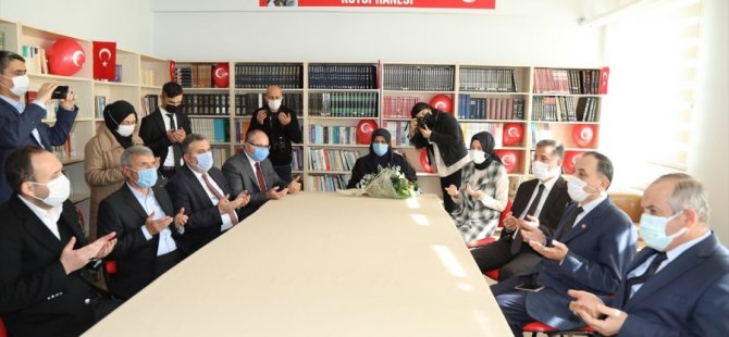 Şehit Gökhan Topal'ın Adı Okul Kütüphanesinde Yaşatılacak