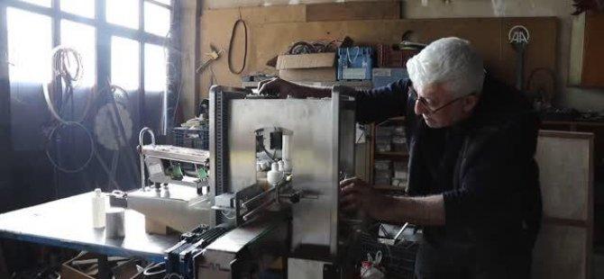 Fabrikalar için 40 yıldır makine tasarlayıp üretiyor