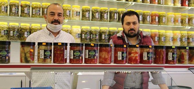 Çerkezköy'ün Turşuları Çubuk'tan...