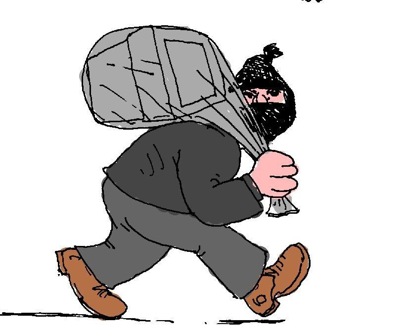 Hırsız Adres Sormuyor