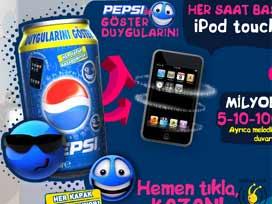 Pepsiden Yarışmaya Türban Şartı